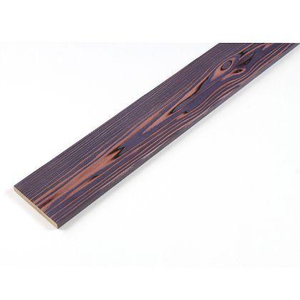 カラーリング天然杉 「UROCO」 サネ無し 焼杉 パープル SS(12X95X230mm) Y3