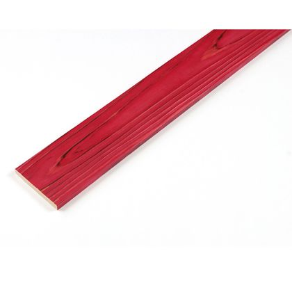 カラーリング天然杉 「UROCO」 サネ無し 焼杉 レッド SS(12X95X230mm) Y4