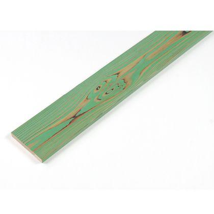カラーリング天然杉 「UROCO」 サネ無し 焼杉 パステルグリーン SS(12X95X230mm) Y8