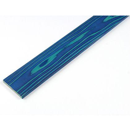 カラーリング天然杉 「UROCO」 サネ無し 浮造り ダークブルー SS(12X95X230mm) U1