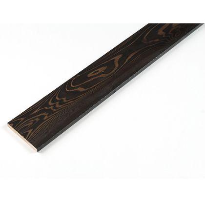 カラーリング天然杉 「UROCO」  サネ無し 浮造り ブラック SS(12X95X230mm) U10