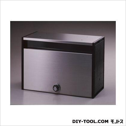 ステン集合ポスト(ダイヤル錠) シルバー W34.0×D16.0×H24.0cm ADP-240  台