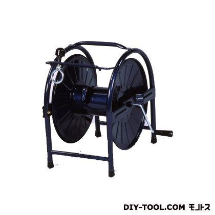 グリーンライフ スチールリール20~25巻 コバルトブルー 幅32奥行32.5高さ36(cm) HR-S(CB)   ホースリール・ホースハンガー 散水・潅水用ホース