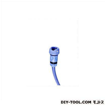 3点ビス蛇口コネクターセット ブルー mm4.5高さ8.4(cm) YMS-2827