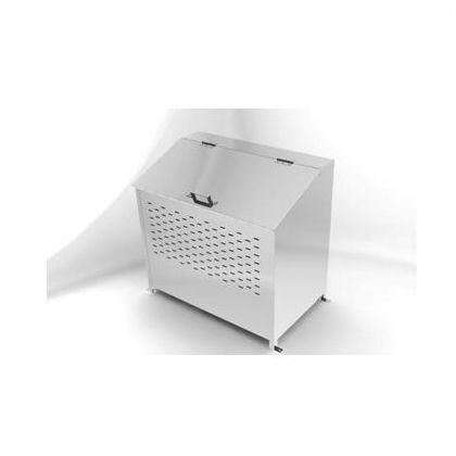ステンレスダストボックス  W90×D54×H85.5cm DB-360L