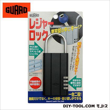 ガード レジャーロック ブラック  63.5×151.5mm (No360K)