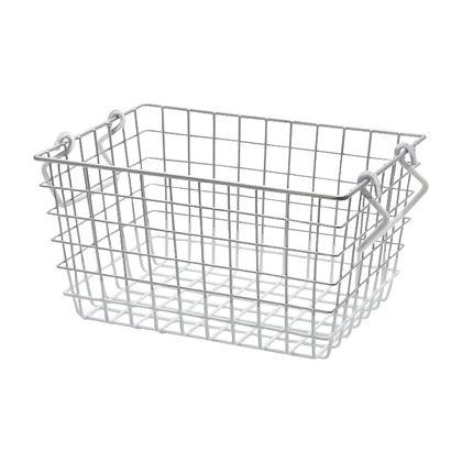 PANTRY BASKET パントリーバスケット S WHITE W260×D190×H140mm A096WH
