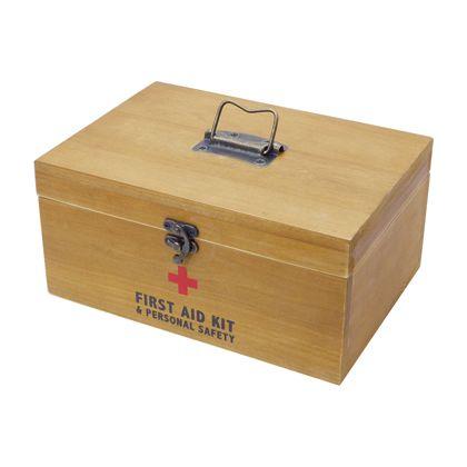 ファーストエイドボックス  W255×D180×H120mm K424