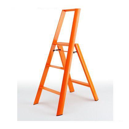 ルカーノ 3-step 踏台(踏み台) オレンジ  ML2.0-3(OR)