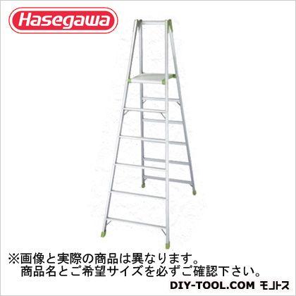 専用脚立ウイングステップ(R)上枠付(10147)  天板高さ1.41m KS-15