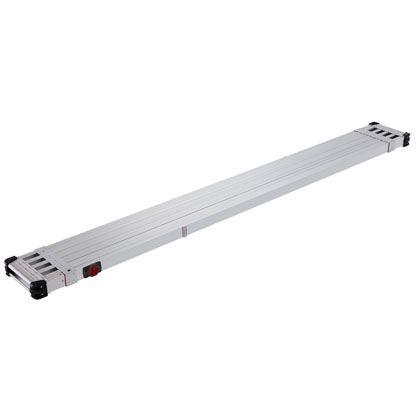 伸縮式足場板 スライドステージ シルバー  SSF1.0-400