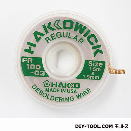ウィック レギュラー  1.5m×1.9mm FR100-03