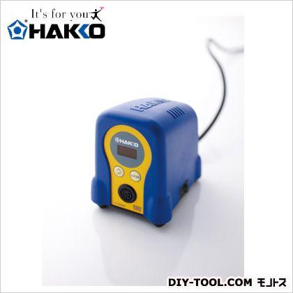 ハッコーFX-888D100V2極接地型プラグ ブルー/イエロー  FX888D-01BY