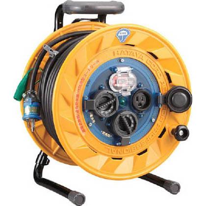 防雨型屋外用リール 漏電遮断器付(アース付)電工ドラム・電工リール   BF-301K