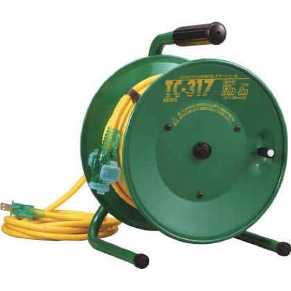 ハタヤ逆配電型コードリールシンディテモートリール単相100V17+3m  20m TC-317