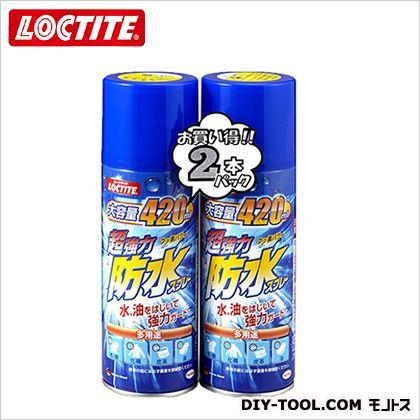 ロックタイト 超強力防水スプレー 多用途  420ml×2 DBS-422 2 本