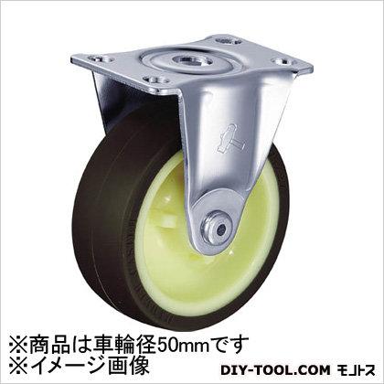 キャスター G型 固定 ウレタン車  50mm 420RUR50BAR01