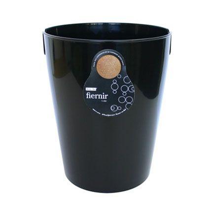 八幡化成 ごみ箱 fiernir フェニール L ブラック 約W24.5×D28.7×H30(cm) 213389