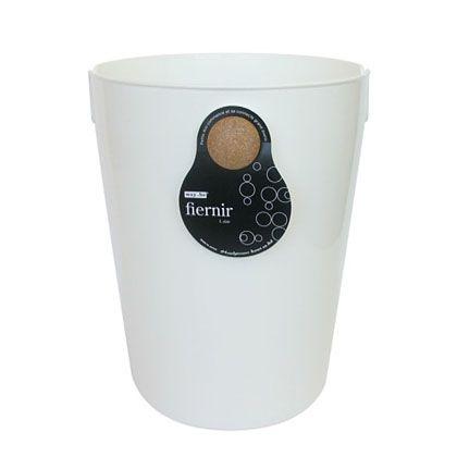 八幡化成 ごみ箱 fiernir フェニール L ホワイト 約W24.5×D28.7×H30(cm) 213385