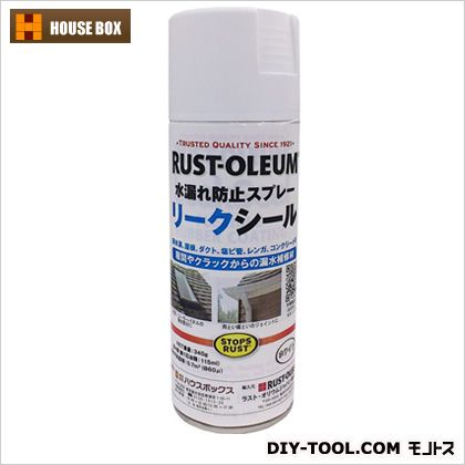 リークシール 水漏れ防止スプレー ホワイト  19010902