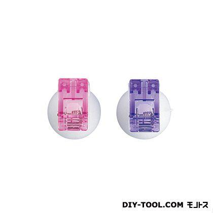 吸盤クリップ 色混み (QC-441) 2個