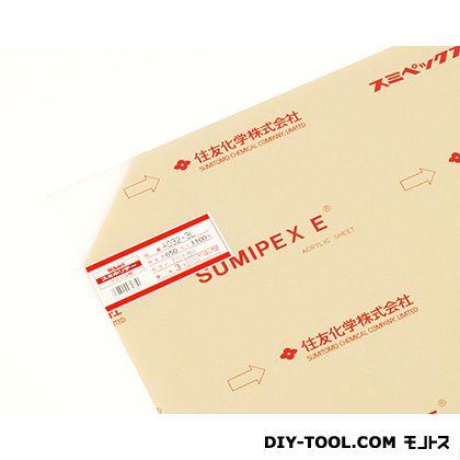 アクリル板 乳白半透明 3×650×1100mm A032-3L   0