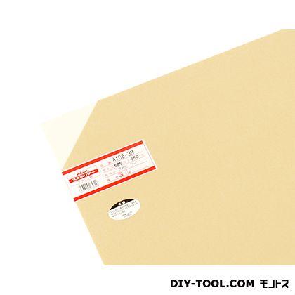 アクリル板 アイボリー 3×545×650mm A165-3M   0