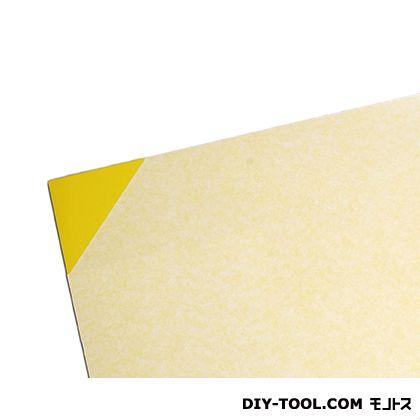 塩ビ板 黄 1×1820×910mm EB1891-3     0
