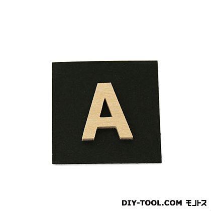 木製文字 シナベニア製抜き文字  PSB25-A  0