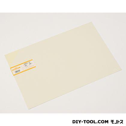塩ビ板 アイボリー 1×300×450mm EB431-21     0