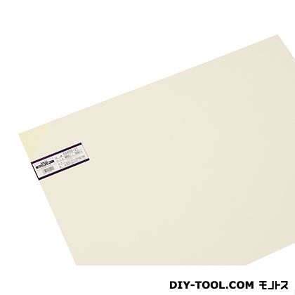 塩ビ板 アイボリー 0.5×450×600 EB455-21     0