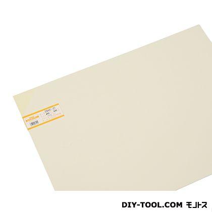 塩ビ板 アイボリー 1×450×600mm EB461-21     0