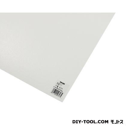 PP板 ホワイト 485mm×570mm×0.75mm P497-7  0