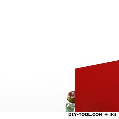 塩ビ板 赤 0.5×910×300mm EB935-2   0