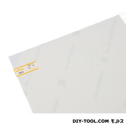 塩ビ板 乳半 1×910×600mm EB961-12     0