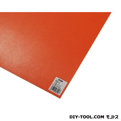 PP板 オレンジ 970mm×570mm×0.75mm P980-2  0