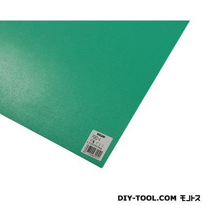 PP板 グリーン 970mm×570mm×0.75mm P980-4  0