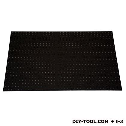 パンチングボード 黒 約910mm×605mm×6.5mm PGBD609-1 1 枚