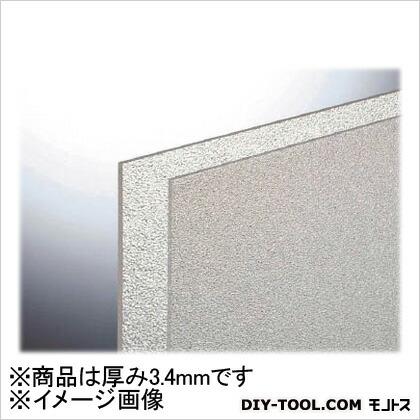 光 スチロール樹脂板透明マット3.4mm  1830mm×915mm PSWM1802