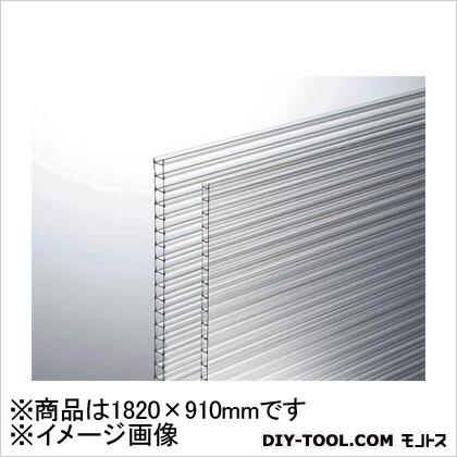 ポリカ中空ボード 透明 1820×910×4mm (KTP1894W1)