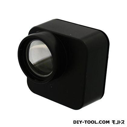 光 ドアワイドスコープ 黒 (KWS-2) サッシ補助錠 ドア用サッシ用防犯