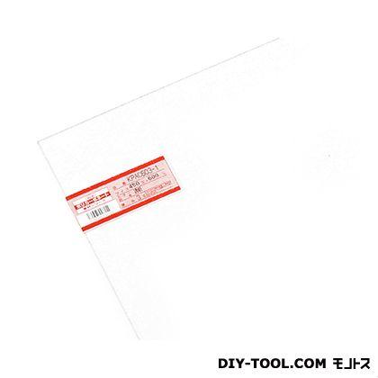 ポリカーボネート板 透明 450×600×3mm KPAC603-1    0
