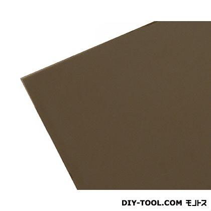 ポリカーボネート板 ブラウンスモーク 915×1830×2mm KPAB182-2    0