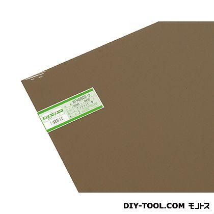 ポリカーボネート板 ブラウンスモーク 600×900×2mm KPAB902-2    0