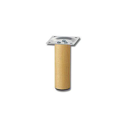 家具用丸脚(1本) 木製   32.8×100mm KSW-3310  0