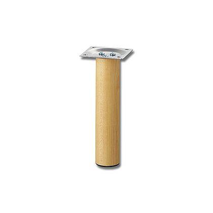 家具用丸脚(1本) 木製  32.8×150mm KSW-3315  0