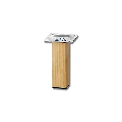 家具用角脚(1本) 木製  32×100mm KSW-3210  0