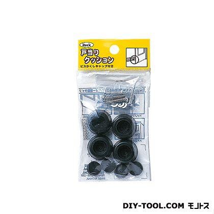 ゴムクッション戸当り 黒 11×22 (PGD-11-1) 4個