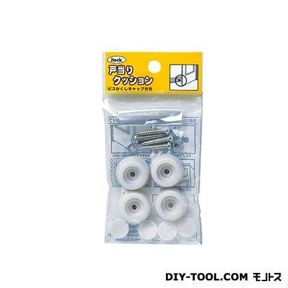 ゴムクッション戸当り 白 11×22 (PGD-11-2) 4個