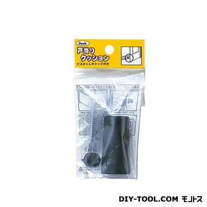 ゴムクッション戸当り 黒 50×26 PGD-52-1 1 個